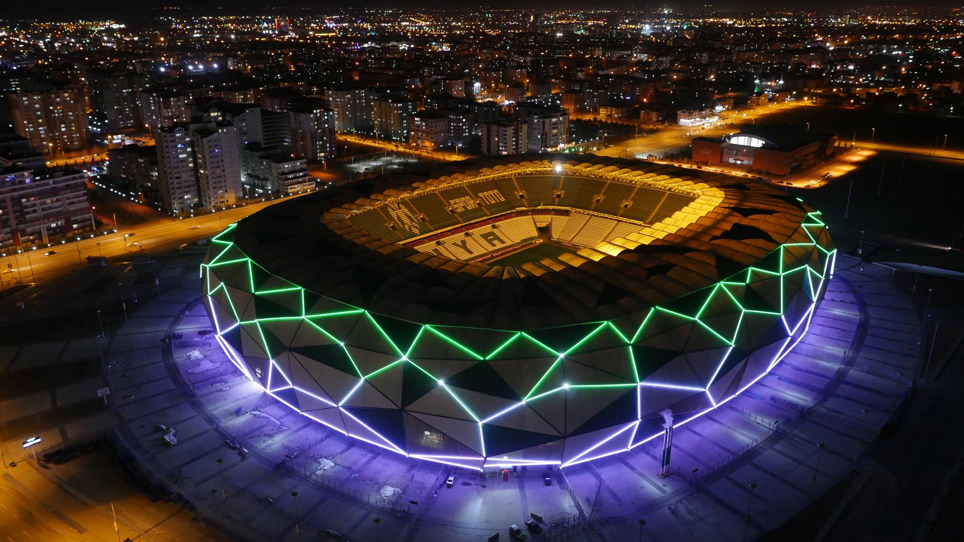 Konya B 252 Y 252 Kşehir Stadium Archive