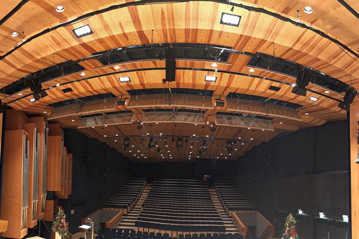 Hochschule für Musik Detmold – Konzertsaal